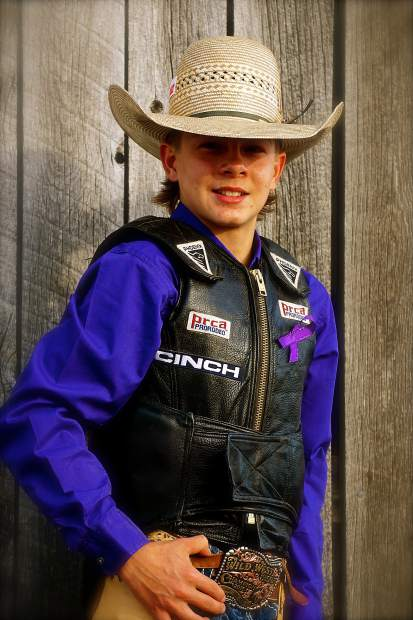 Montana's Coy Montgomery represents at Jr  NFR in Las Vegas