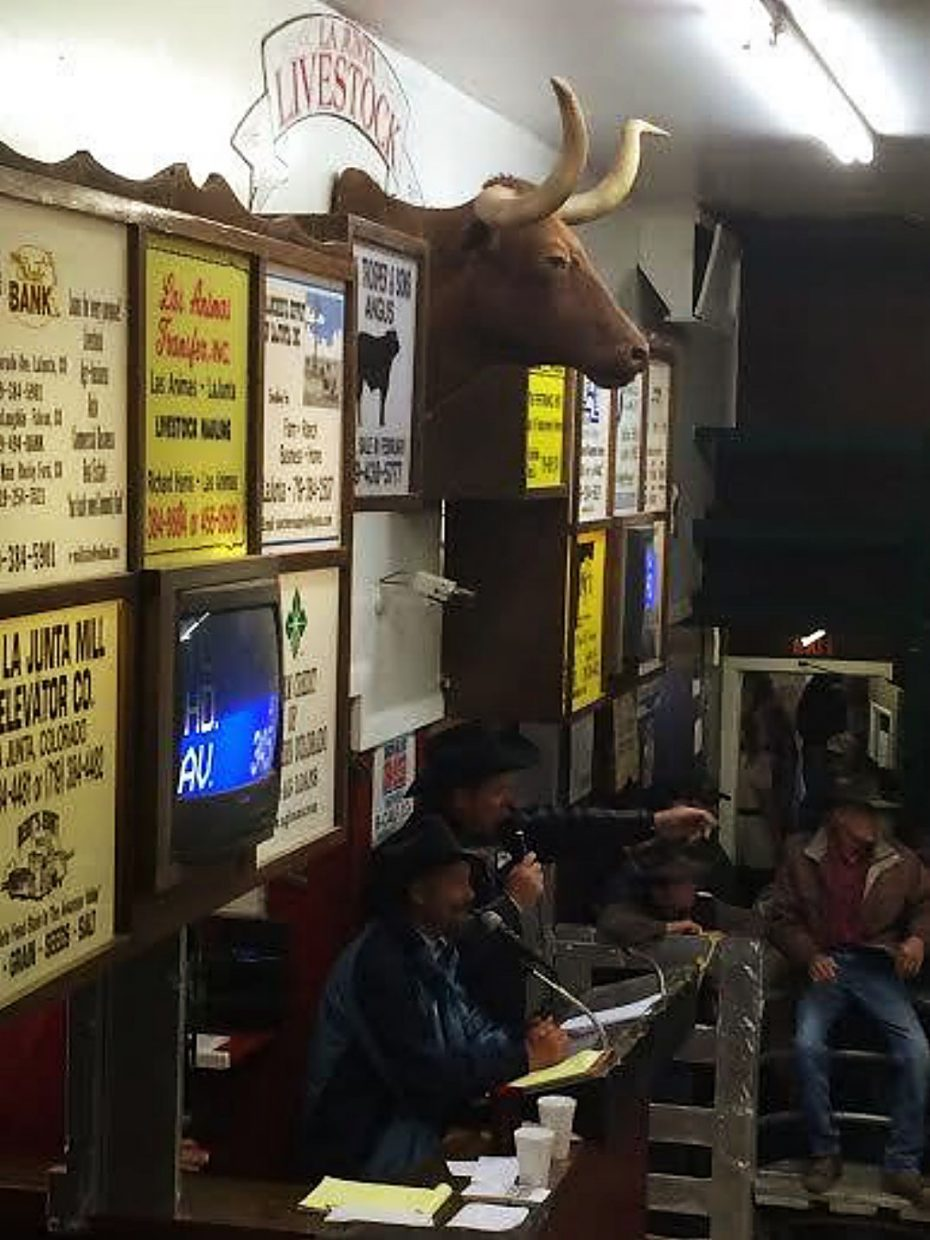 La Junta Livestock Commission drives people to town every