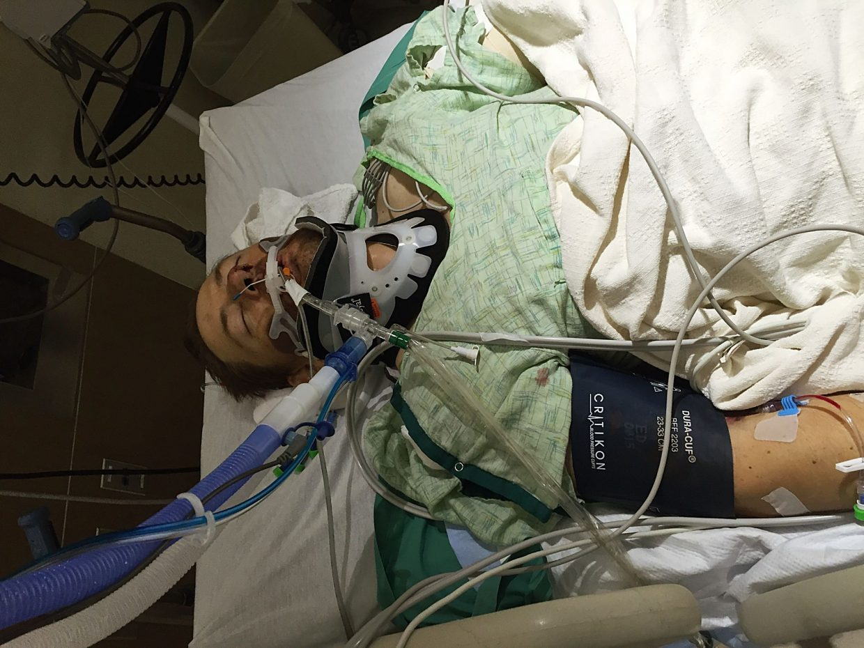 Wyoming rancher survives head on crash and is back in the