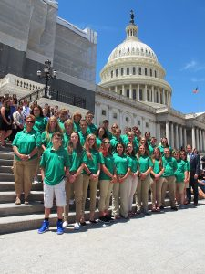 4-Hers boost leaderships skills and civic engagement through 4-H Citizenship Washington Focus