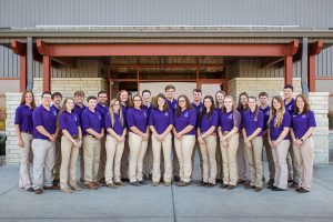 High school students learn to lead the animal science industry