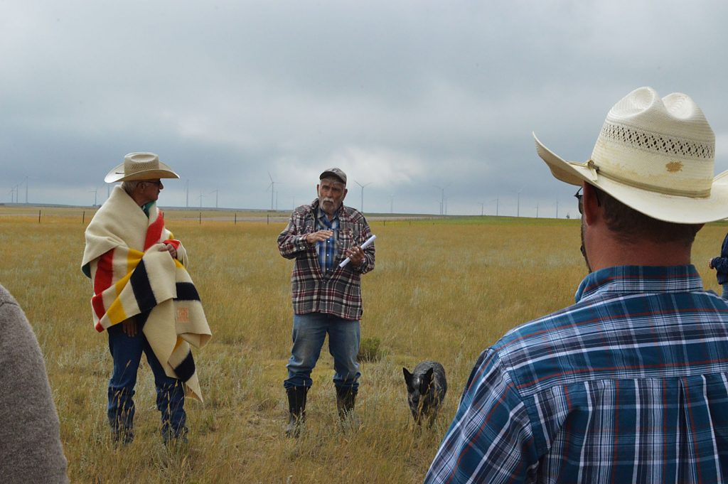 Pawnee Buttes Grass Tour held in Grover